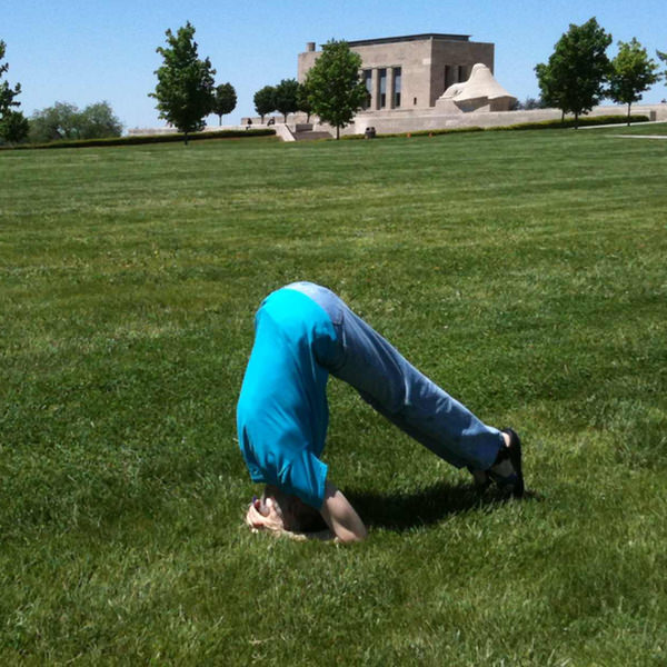 50th Birthday Pike Headstand #1