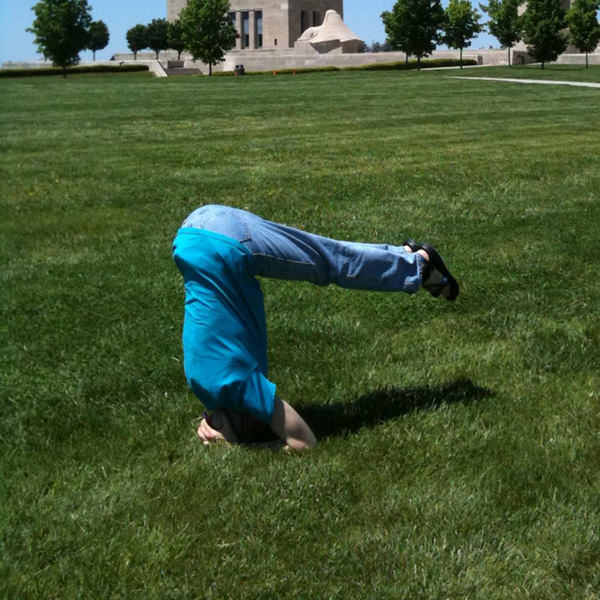 50th Birthday Pike Headstand #2