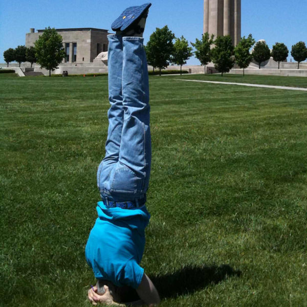 50th Birthday Pike Headstand #5